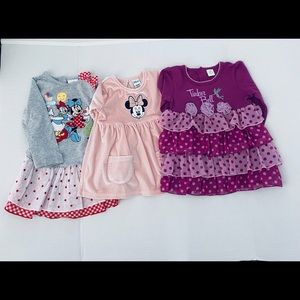 Disney Dress Bundle With Free Bambi Plush Toy